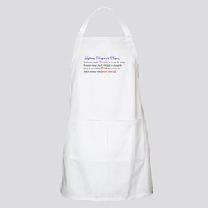 Light Designer Prayer BBQ Apron
