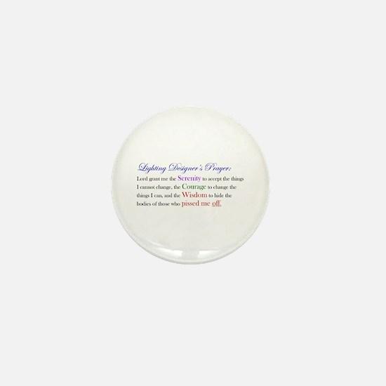 Light Designer Prayer Mini Button