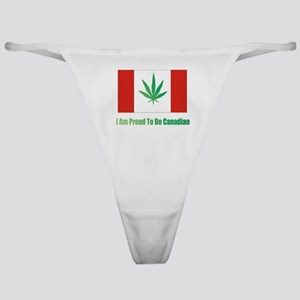 Proud to be Canadian Classic Thong