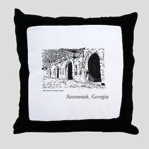 Savannah, Georgia Throw Pillow