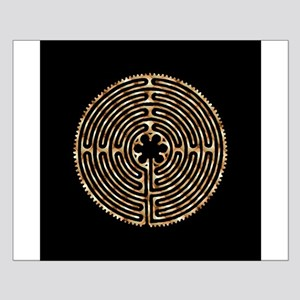 Chartres Labyrinth Pearl Small Poster
