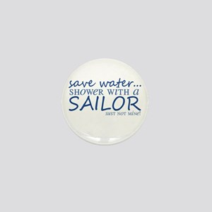 Save water ... Mini Button