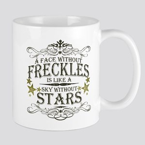 A Face Without Freckles Mug