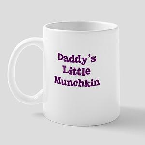 Daddy's Little Munchkin Mug