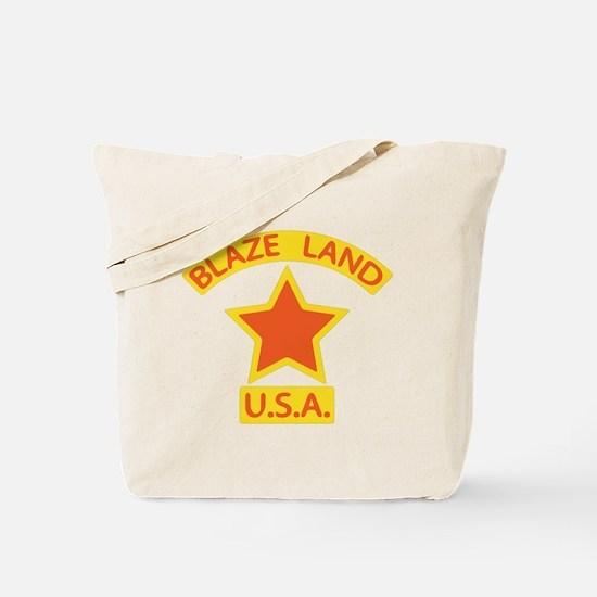 Blaze Land USA Tote Bag