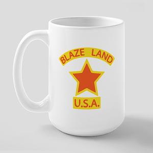 Blaze Land USA Large Mug
