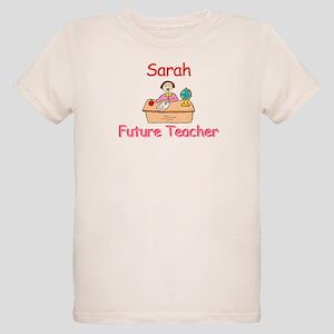 Sarah - Future Teacher Organic Kids T-Shirt