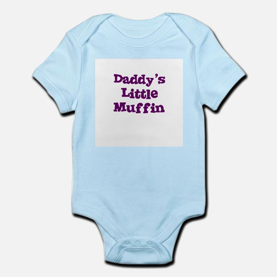 Daddy's Little Muffin Infant Creeper