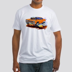 Roadrunner Orange Car Fitted T-Shirt