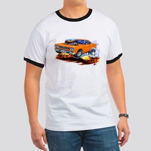 Roadrunner Orange Car Ringer T