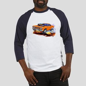 Roadrunner Orange Car Baseball Jersey