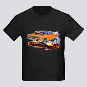 Roadrunner Orange Car Kids Dark T-Shirt