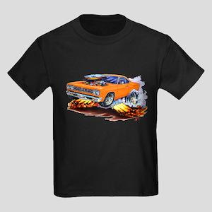 Roadrunner Orange Car Kids Dark T-Shirt