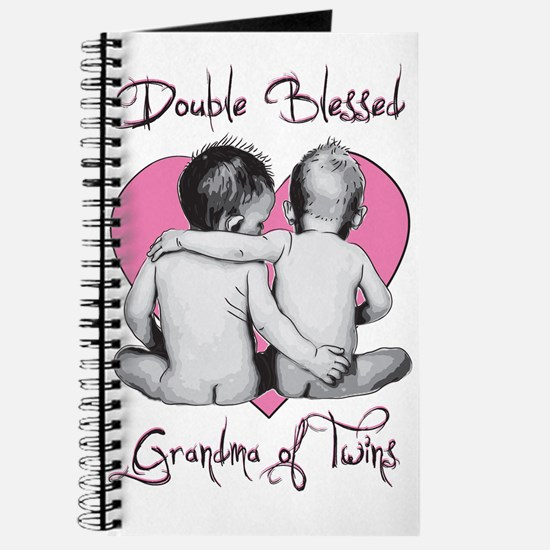 Double Blessed Grandma of Twins Journal