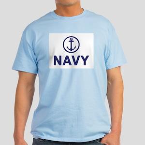 Navy Ash Grey T-Shirt
