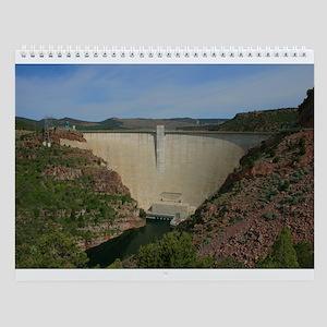 Wall Calendar,Flaming Gorge,Utah
