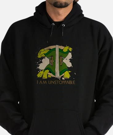 Cute I am unstoppable Hoodie (dark)