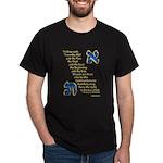 Aleph & Tav Black T-Shirt