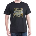 Blessed Are The Upright In The Way Black T-Shirt