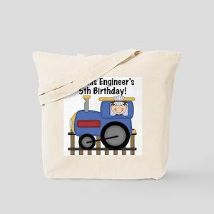 Engineer 5th Birthday Tote Bag
