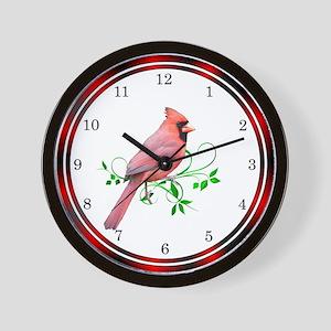 Exquisite Cardinal Wall Clock