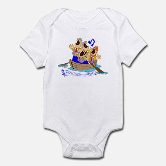 Row row row your boat. Infant Bodysuit