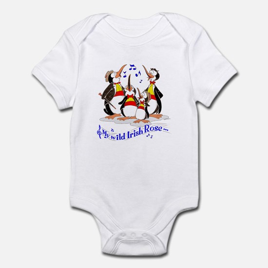 Penguin quartet. Infant Bodysuit