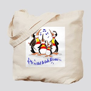 Penguin quartet. Tote Bag