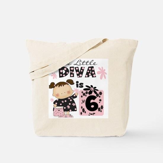 Diva 6th Birthday Tote Bag
