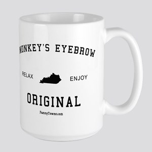 Monkey's Eyebrow, Kentucky (K Large Mug