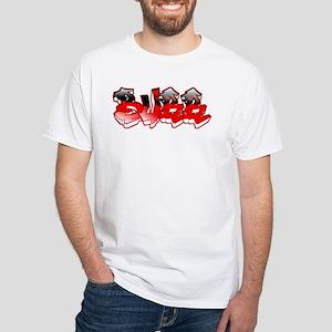 BuRR- White T-Shirt