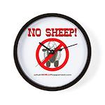 NO SHEEP! Wall Clock