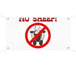 NO SHEEP! Banner