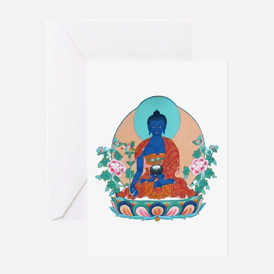 Medicine Buddha Greeting Card