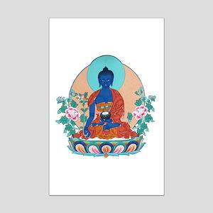 Medicine Buddha Mini Poster Print