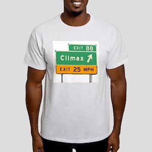 Climax, Michigan (MI) Light T-Shirt