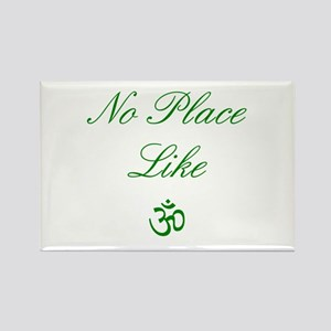 no place like om Rectangle Magnet