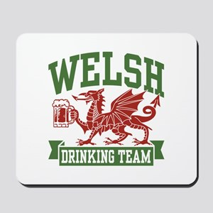 Welsh Drinking Team Mousepad