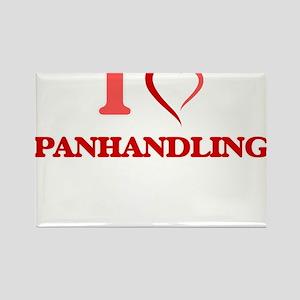 I Love Panhandling Magnets