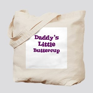 Daddy's Little Buttercup Tote Bag