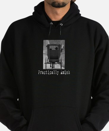 Unique Funny amish Hoodie (dark)