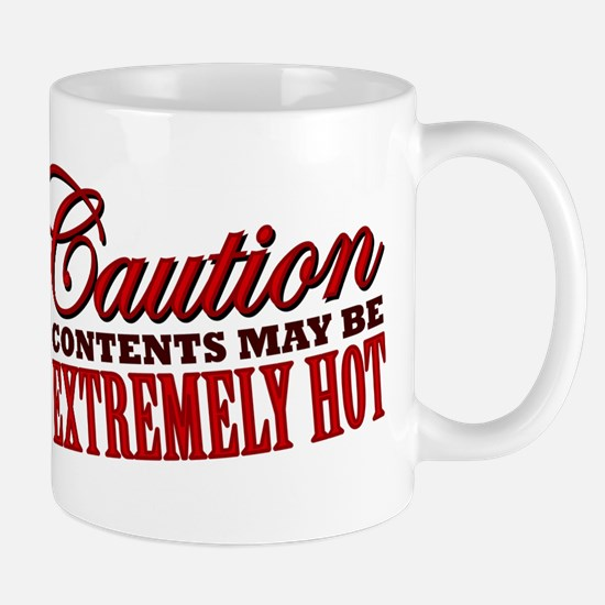 Caution: Contents Extremely Hot Mug