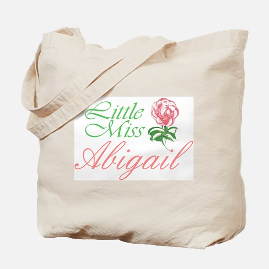 Little Miss Abigail Tote Bag