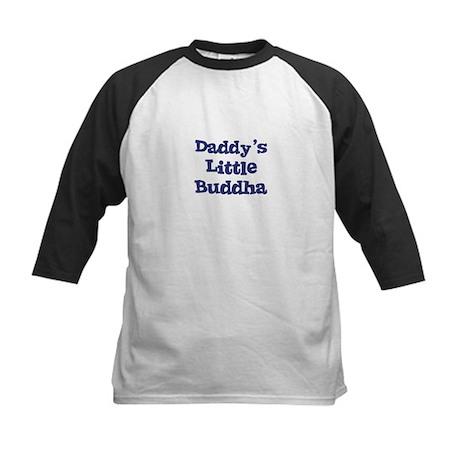 Daddy's Little Buddha Kids Baseball Jersey