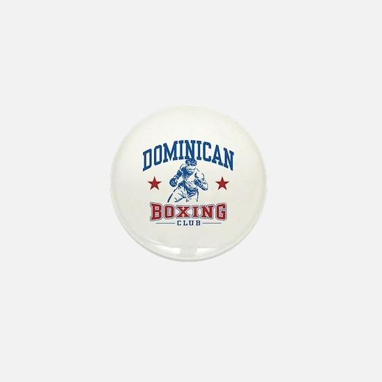 Dominican Boxing Mini Button