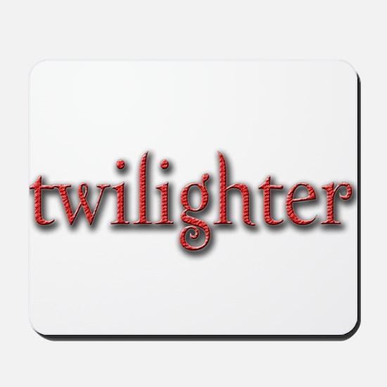 Twilighter (Red) Mousepad
