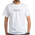 Mills Way - Positive Solution White T-Shirt
