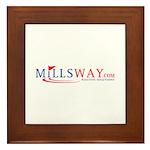 Mills Way - Positive Solution Framed Tile