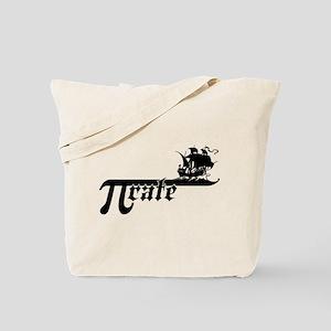 Pi rate Ship Tote Bag