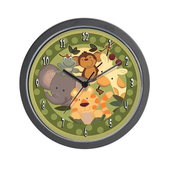 Jungle Safari Clock
